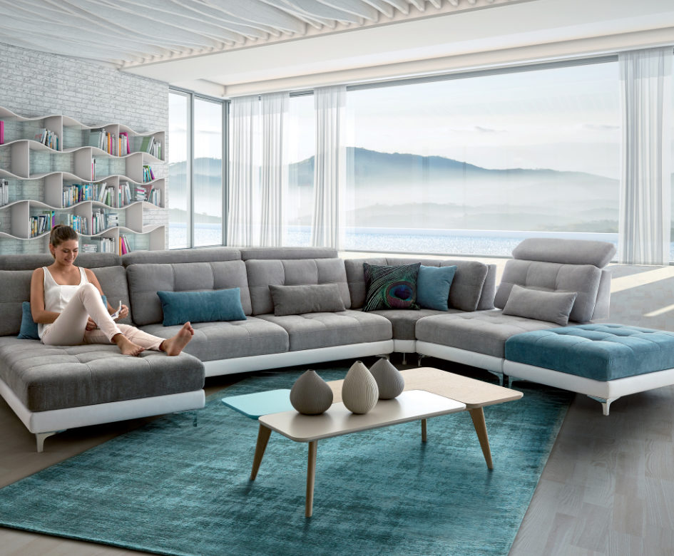 les nouveaut s home salons des canap s et fauteuils tendances. Black Bedroom Furniture Sets. Home Design Ideas