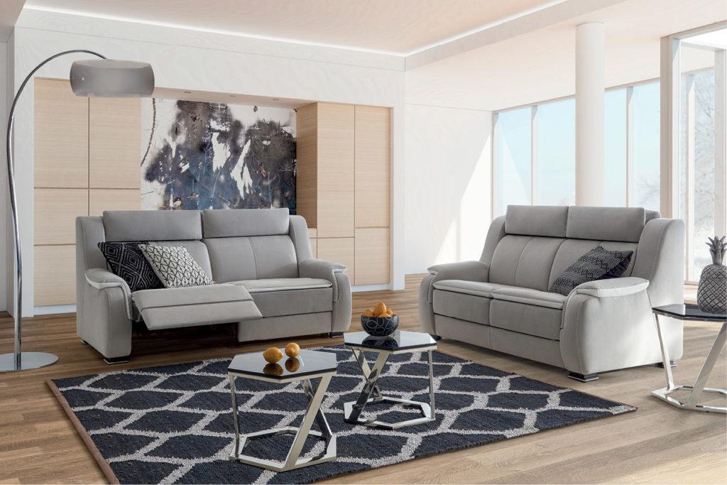 Décoration d'inspiration ethnique avec le canapé HomeSalons Prélude