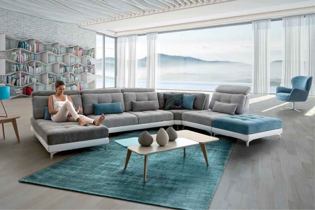 Un canapé HomeSalons pour une ambiance cocooning dans le salon