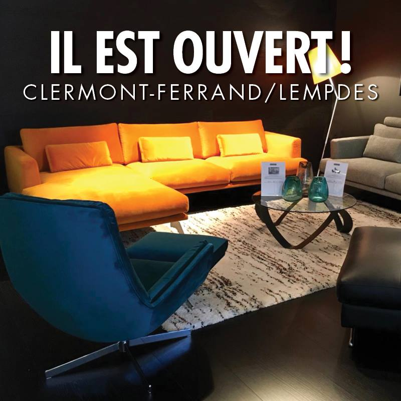 retour sur l'ouverture du magasin HomeSalons à Clermont-Ferrand