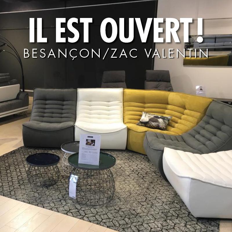 Ouverture d'un magasin Homesalons à Besançon