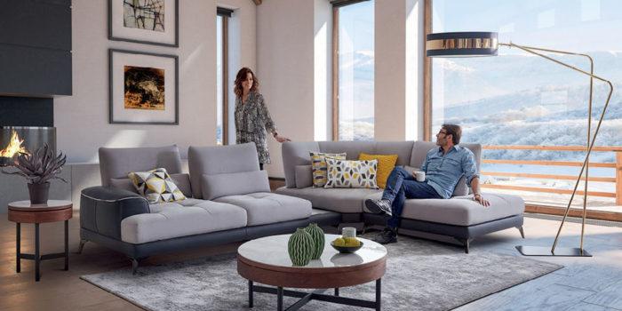 Canapés d'angle : 5 agencements originaux pour le salon