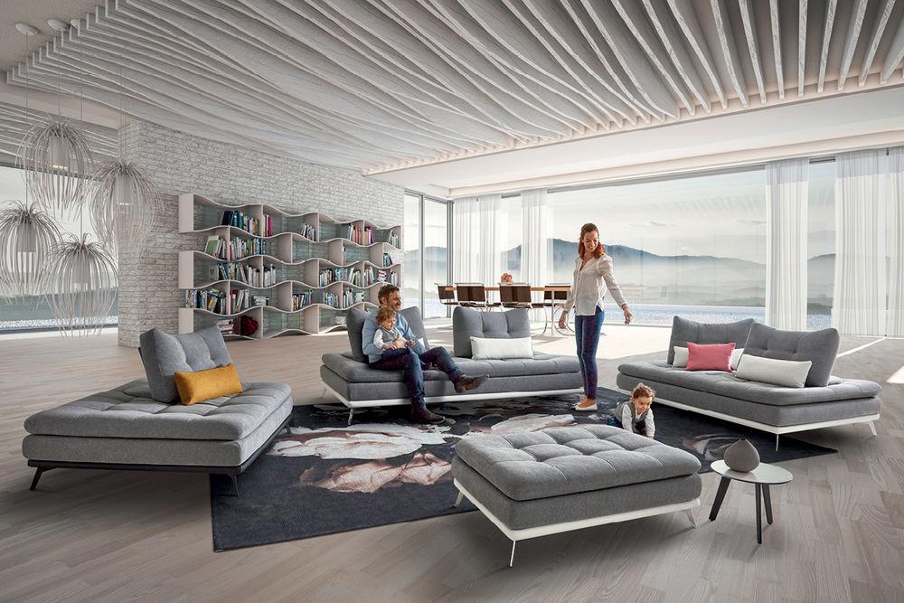 Nouvelle collection HomeSalons canapé Cube