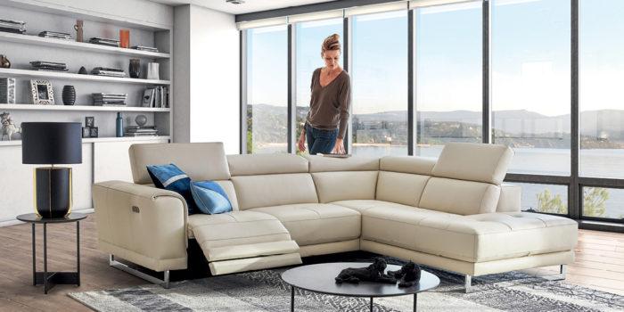 Confort, design… Le canapé relax électrise votre salon