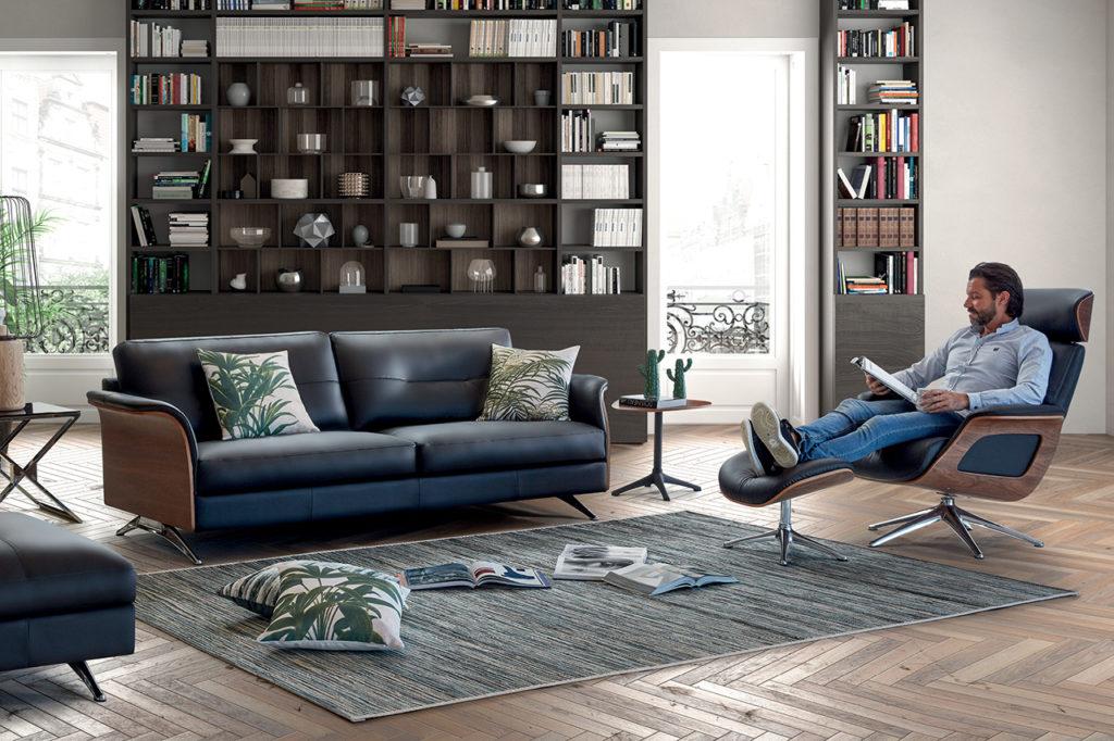Déco salon avec canapé Charles et Fauteuil Camilla HomeSalons