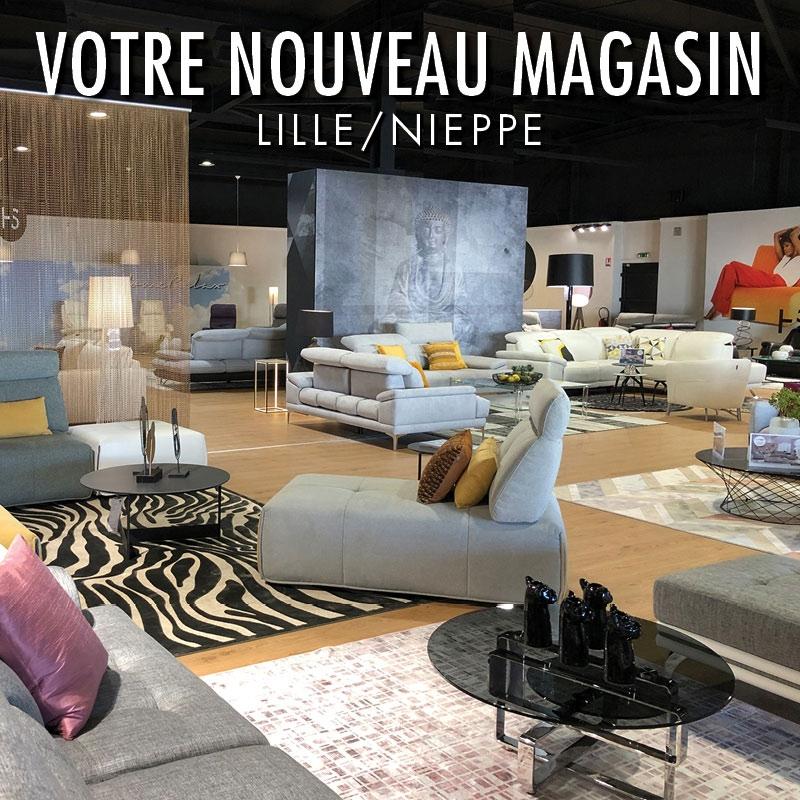 Ouverture d'un nouveau magasin HomeSalons à Lille/Nieppe