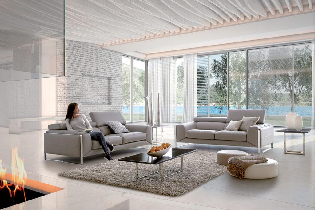 Salon accueillant canapé HomeSalons Nuage