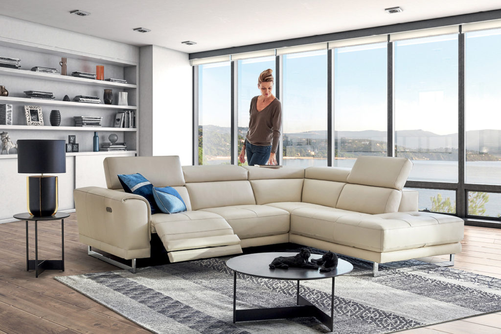 Canapé d'angle Sahara HomeSalons