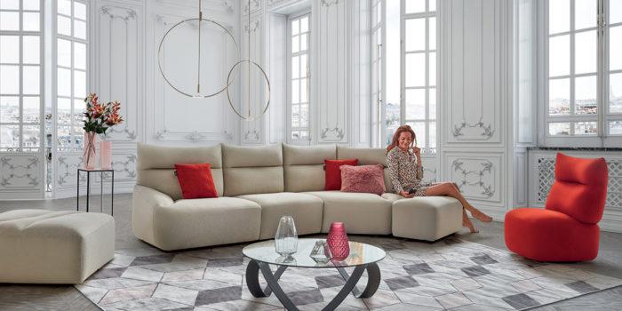 Canapé modulable : 5 modèles pour personnaliser le salon