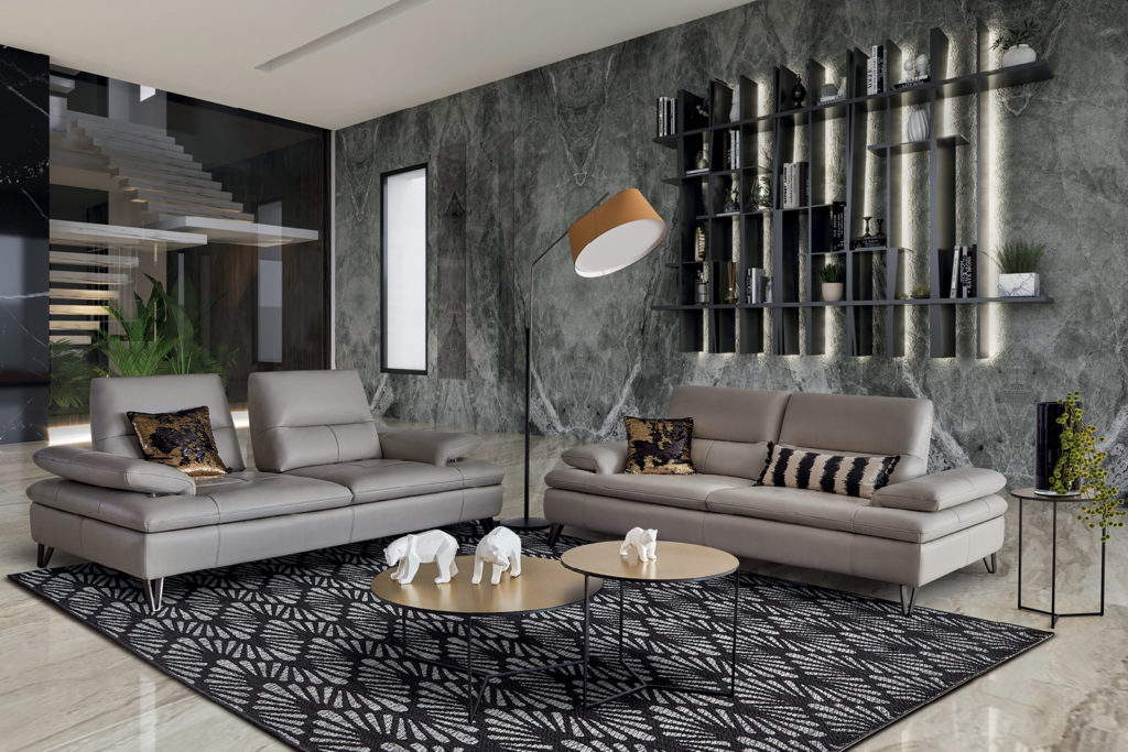 Canapé Cuir HomeSalons Illusion