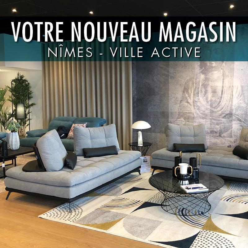 Ouverture nouveau magasin HomeSalons Nîmes