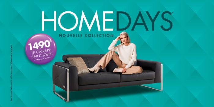 Profitez des HomeDays* chez HomeSalons !